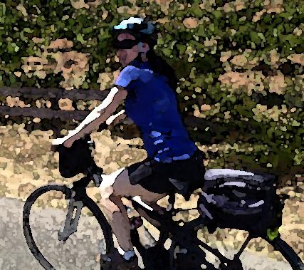 st helena girl bike tour